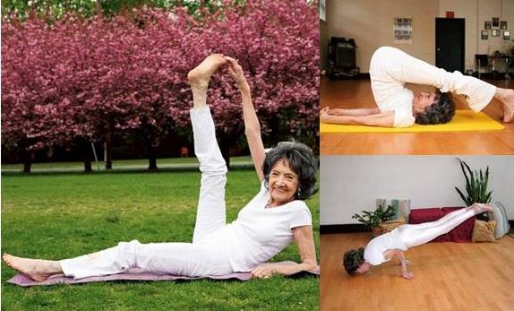 Tao Porchon-Lynch: 99 tuổi vẫn dẻo dai nhờ đam mê yoga và giày cao gót | YogaPlus